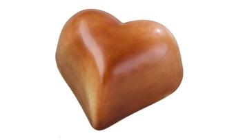 Pralin & Tryffel - Romeo - Ljus Nougat Hjärta - Pralin & Tryffel - Romeo - Ljus Nougat Hjärta
