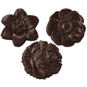 Pralinhuset - Choco Snacks - Chokladblommor Mörk