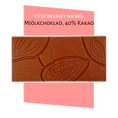 Pralinhuset - 40% Kakao - Ren - Utan Tillsatt Socker