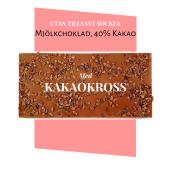 Pralinhuset - 40% Kakao - Kakaokross - Utan Tillsatt Socker