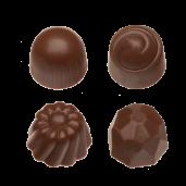 Pralin & Tryffel - Milk - Hasselnötter & Nougat - Utan Tillsatt Socker
