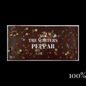 Pralinhuset - 100% Kakao - Tre Sorters Peppar