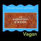 Pralinhuset - 40% Kakao - Kardemumma & Kanel - Mjölkfri