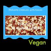 Pralinhuset - 40% Kakao - Hallon, Kokos & Chili - Mjölkfri