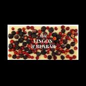 Pralinhuset - Vit Choklad - Lingon & Blåbär