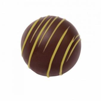 Pralin & Tryffel - Lina - Vit Ganache med Limoncello - Mörk Choklad