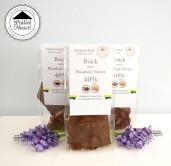 Pralinhuset - 40% Mjölkchoklad - 3 Påsar Bräck med Blandade Nötter