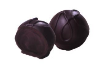 Pralin & Tryffel - Herren Tryffel - Mörk tryffel 82% kakao -