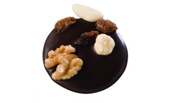 Pralin & Tryffel - Studenthatt - Mörk Choklad med Nötter -