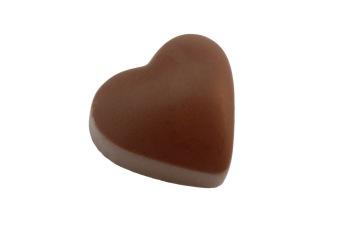 Pralin & Tryffel - Rismjölkhjärta - Hjärtformad Choklad i Rismjölk -