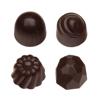 Pralin & Tryffel - Dark - Hasselnötter & Nougat - Utan Tillsatt Socker -