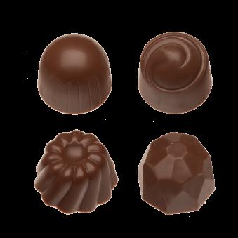 Pralin & Tryffel - Milk - Hasselnötter & Nougat - Utan Tillsatt Socker -