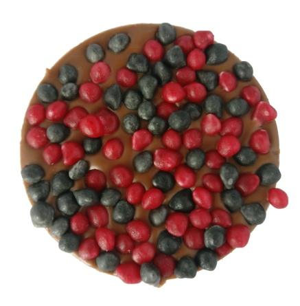 Pralinhusets - Coffee Treats - 40% kakao - Lakritsfudge & Hallonfudge -