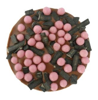 Pralinhusets - Coffee Treats - 40% kakao - Lakrits & Jordgubbskrisp -