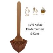 Pralinhuset - Drickchoklad - 40% Kakao - Kanel & Kardemumma