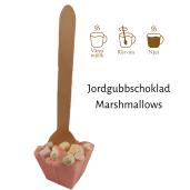 Pralinhuset – Drickchoklad - Jordgubbschoklad & Marshmallows