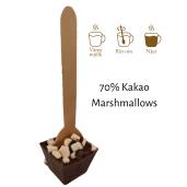 Pralinhuset - Drickchoklad - 70% Kakao - Marshmallows