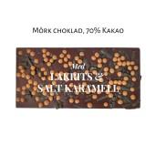 Pralinhuset - 70% Kakao - Lakrits & Salt Karamell