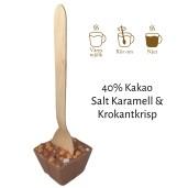 Pralinhuset - Drickchoklad - 40% Kakao - Salt Karamell & Krokantkrisp