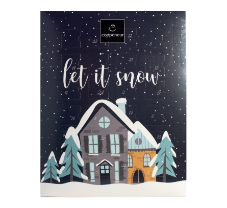 Adventskalender - Let it Snow - Mini Tryfflar -