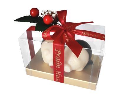 Marsipangris - 2 st Julgrisar med Äpplen - 135 Gram -