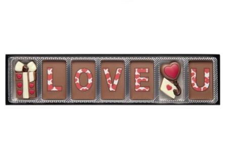 Love U - 70 gram - Ljus Choklad