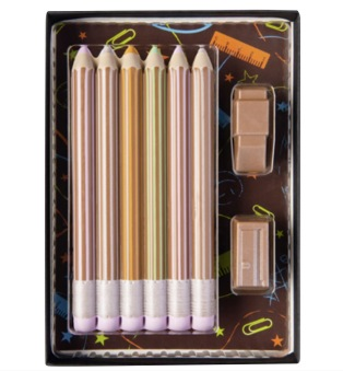 Pennset - 40 gram - Ljus Choklad