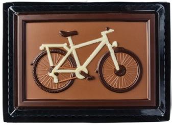 Cykel - 75 gram - Ljus Choklad