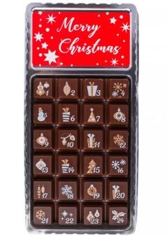 Julkalender - Mörk Choklad - 30 gram -