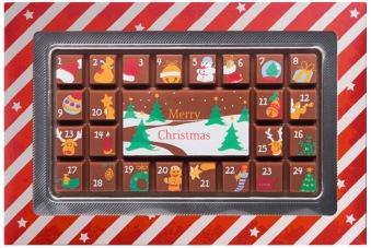 Julkalender - Mjölkchoklad - 70 gram -