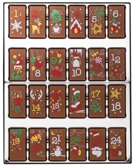 Julkalender - Mjölkchoklad - 200 gram -