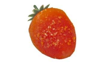 Pralin & Tryffel - Jordgubbsformad marsipan -