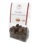 Pralinhuset - Mandlar Doppade -Utan Tillsatt Socker i Mörk Choklad