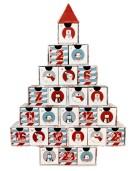 Tom Julkalender - Julgran Med Figurer