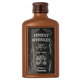 Chokladfigur - Flaska Whisky - 50 gram -