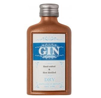 Chokladfigur - Flaska Gin - 50 gram -