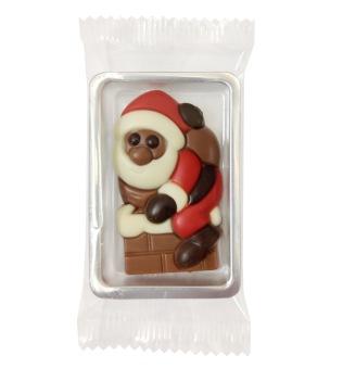 Chokladask - Tomte i Skorstenen - Mjölkchoklad -
