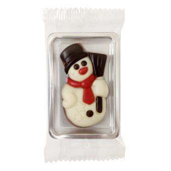 Chokladask - Snögubbe - Mjölkchoklad -