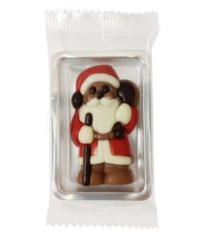 Chokladask - Tomte - Mjölkchoklad -