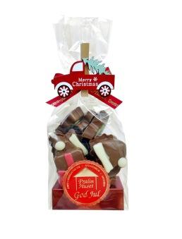 Julpåse - Chokladbitar - Marry Christmas - 130 gram -