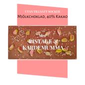 Pralinhuset - 40% Kakao - Pistage & Kardemumma