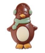Chokladfigur - Pingvin Grön - Mjölkchoklad