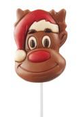 ChokladKlubba - Rudolf med Tomteluva- Mjölkchoklad