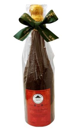 Pralinhuset - Chokladflaska - 300 gram - Grönt Band