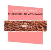 Pralinhuset - 40% Kakao - Risbräck - Utan Tillsatt Socker