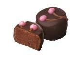 Pralin & Tryffel - Marsipan med Körsbärssmak