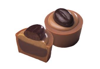 Pralin & Tryffel - Cafénougat Arabica - Ljus Choklad
