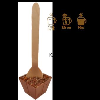 Pralinhuset - Drickchoklad - 40% Kakao - Kanel & Kardemumma -