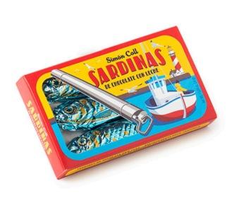 Chokladfigur - Sardiner - 24 gram -