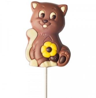 Chokladklubba - Katt - 35 gram -